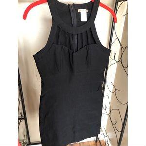 Back cocktail dress